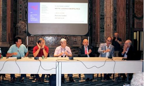 Uno degli incontri di Geopolitica con Massimo Teodori